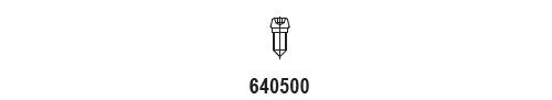 Klemschroef 640500 (per 50 stuks)